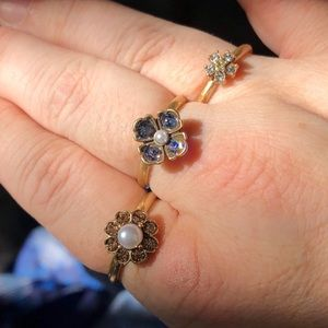 Chloe + Isabel Jewelry - NWT Bon Chic Stackable Rings 🌺